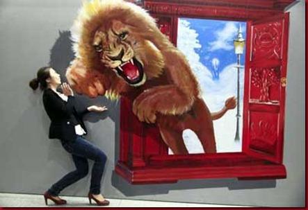 Lukisan 4 Dimensi Terbaik China Keren