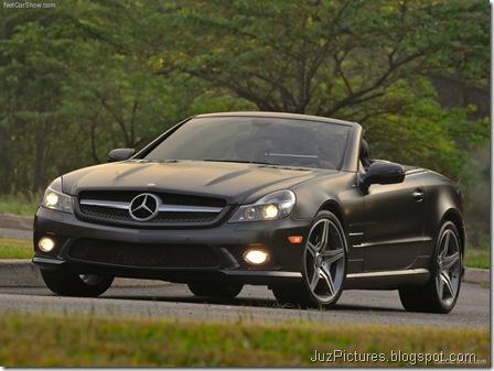 Mercedes-Benz SL550 Night Edition2