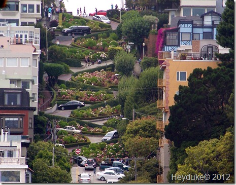 San Francisco winding road