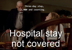 Episode 205: hospital stay not covered