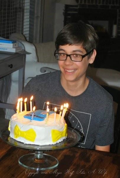 Birthday Tardis Cake