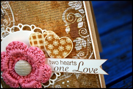 Two hearts detalj