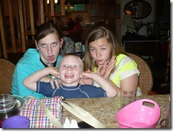Ansley, Will, lil Haley goofy guys
