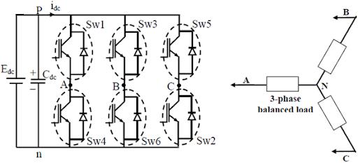 3 phase voltage source inverter with square wave output power rh protorit blogspot com