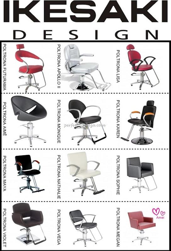 cadeiras e poltronas de cabeleireiro ikesaki design
