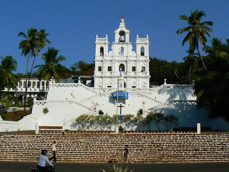 India: The cathedral in Panjim