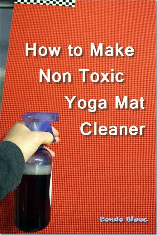 can I wash a yoga mat