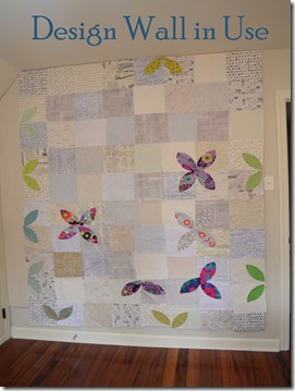 Quilters design wall