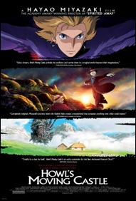 Howl's Moving Castle - poster