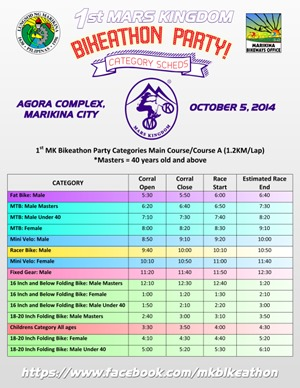 mars kingdom race schedule