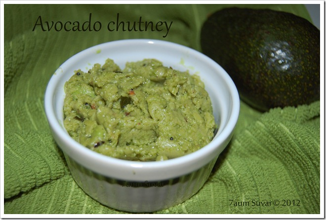 Avocado Chutney