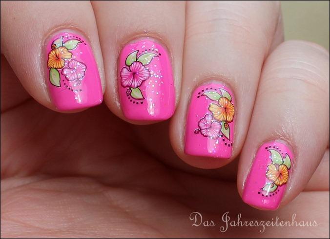 Pinker Hibiskus 7