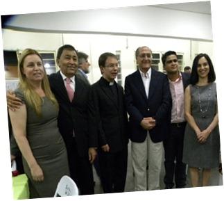 Dona Luzia, Aprígio, Mons. Aguinaldo, Alckmin, Lu Alckmin