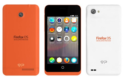 Firefox OS Mozilla