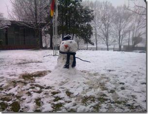 Neve em Caxias do Sul