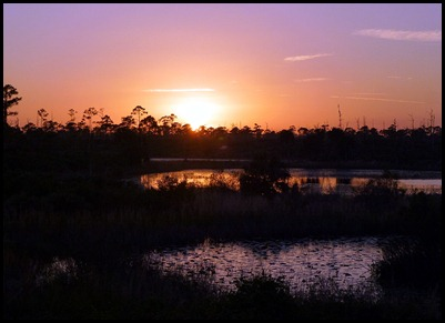 Campground Pond - Sunset 1