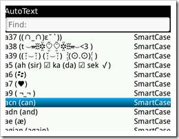 kumpulan autotext blackberry lengkap yang lucu gokil 2014