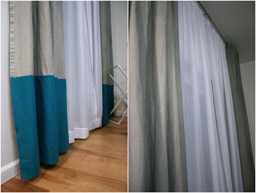 diy colorblock curtains023