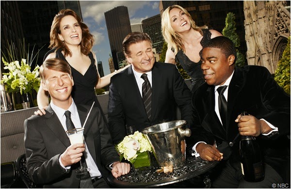 "The cast of ""30 ROCK"""