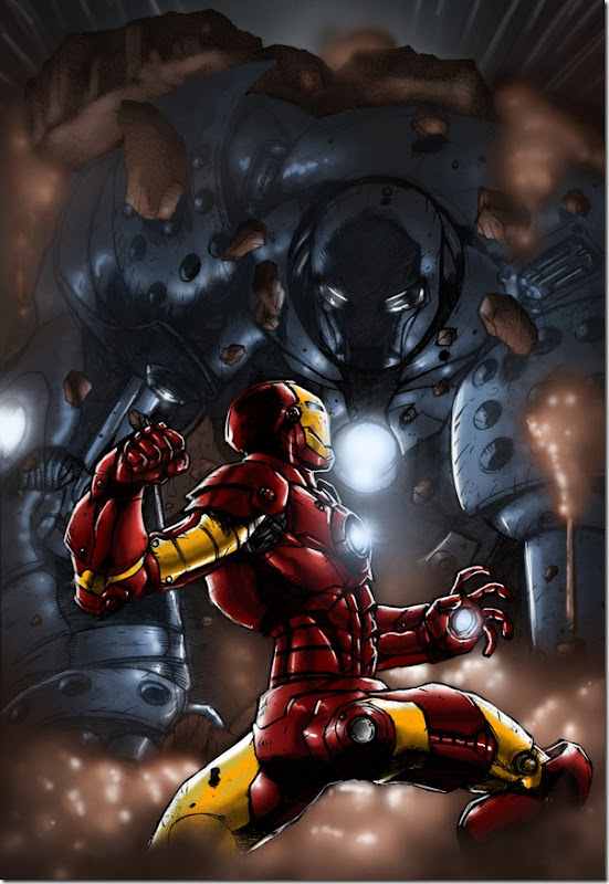 Iron man ,Anthony Edward ,Tony Stark (134)