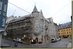 Alesund Building Grey