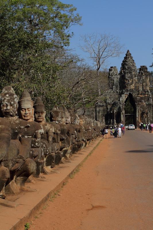 Entering Angkor Thom Campus