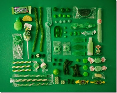 Emily Blincoe - Sugar Series - Green
