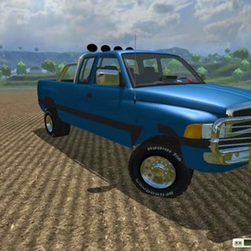 Farming simulator 2013 - Dodge Ram 2500 4x4 Texas Ranger v 1.0