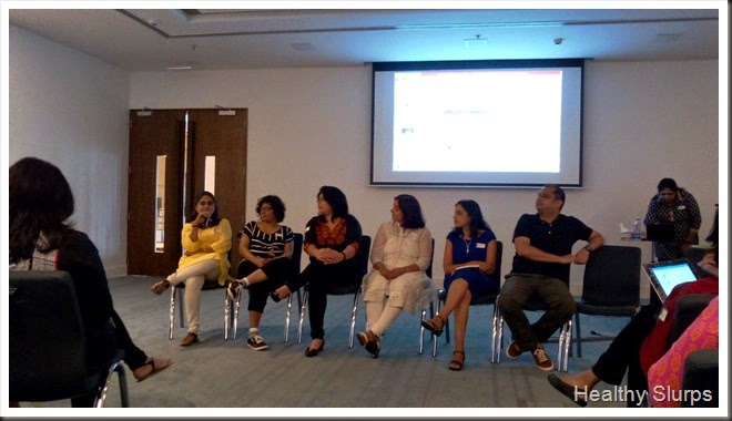 Experts sharing their experiences in the panel discussion