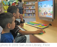 'Children using the computer.' photo (c) 2008, San Jose Library - license: http://creativecommons.org/licenses/by-sa/2.0/