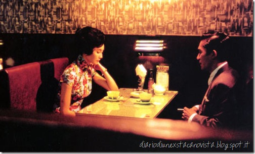 in the mood for love at restaurant