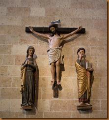 segovia, cathedral calvary