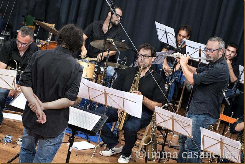 Alex Cassanyes Big Band Project (Xavi López), Vilafranca del Penedès 2014