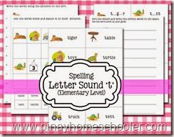 Spelling Letter Sound T