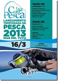 La Costa se prepara para el lanzamiento de la Temporada de Pesca 2013