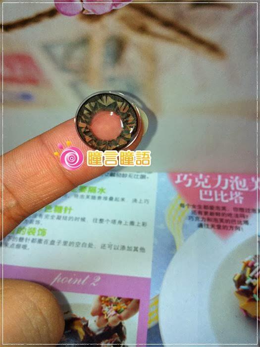 韓國GEO隱形眼鏡-芭比愛七彩鑽石咖6