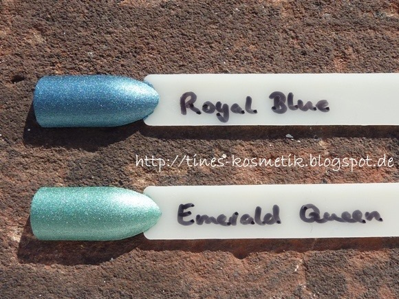 Catrice Rocking Royals Swatches 4