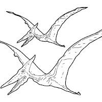 No es un dinosaurio, pero su nombre es pterodactilo