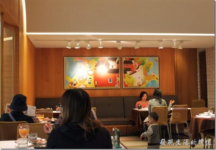 台南【1010湘】餐廳的一隅。
