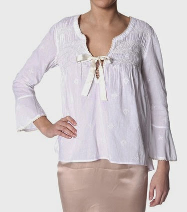 #261 Remix blouse white