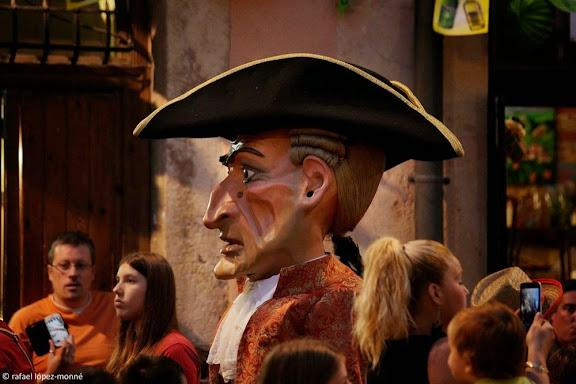 Nanos vells. Cercavila del dia 22. Festes de Santa Tecla. Tarragona, Tarragonès, Tarragona