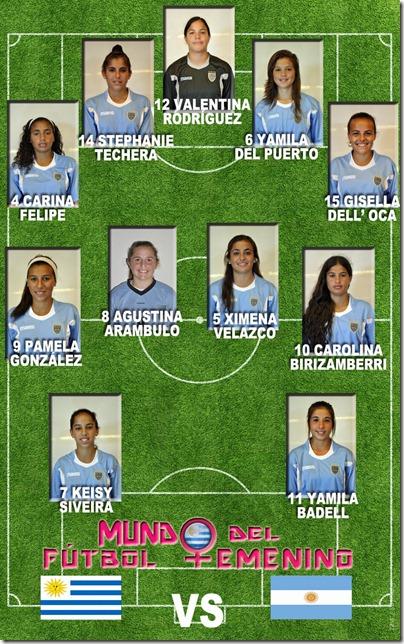 URUGUAY VS ARGENTINA fase final