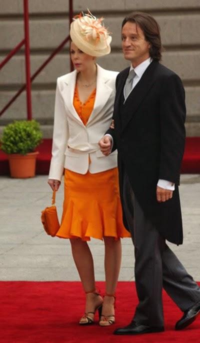 Kalina de Bulgaria, que acudió junto a su esposo