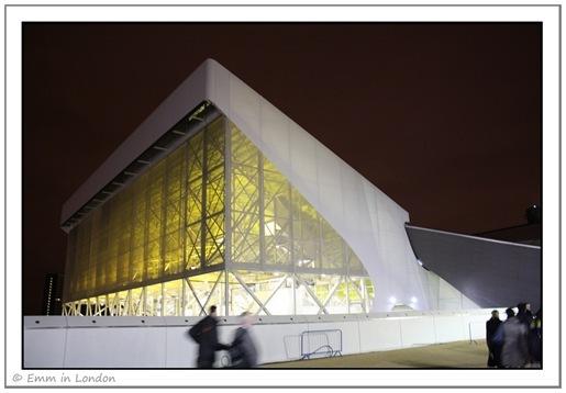 The Olympics Aquatics Centre