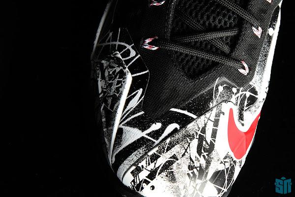 A Truly Beauty Look at Nike LeBron XI 11 8220Graffiti8221