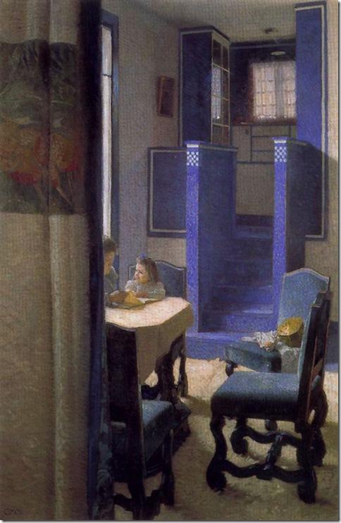 Carl Moll_Interior _1903