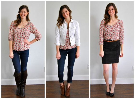 Blousy Boho Top 3 ways