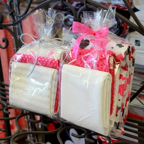 valentine pillow case kits available at The Fabric Mill