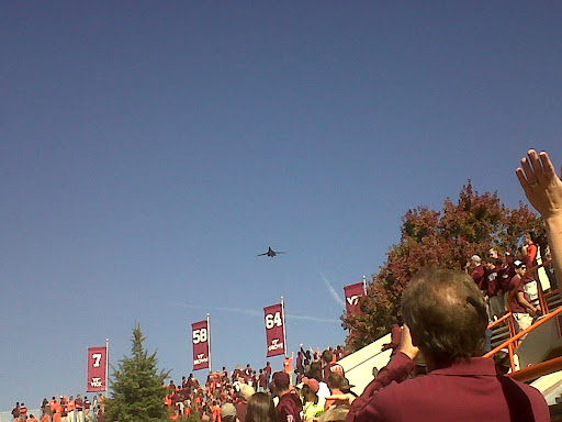 Another Flyover For Duke Game B-29