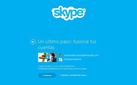 Cómo cambiarse a Skype
